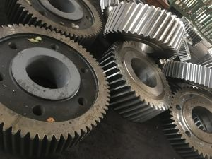 20crmnti Bevel Gear with Keyways for Transmission