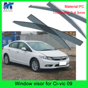 Auto Accesssories Window Roof Visors Sun Guard for Hodna Civic 09 pictures & photos