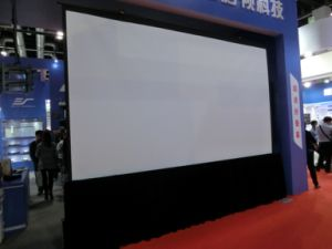 4 3 300 Inch Fast Fold Projection Screen pictures & photos