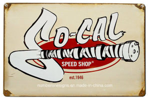 High Quality Vintage Tin Signs by Sign Manufacture