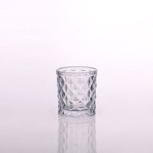Diamond Jar Glass Candle Holder pictures & photos