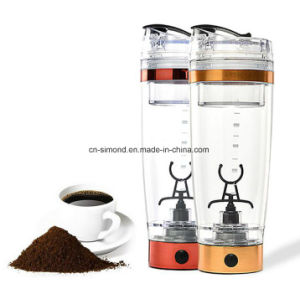 450ml BPA Free Stainless Steel Electric Shaker Bottle pictures & photos