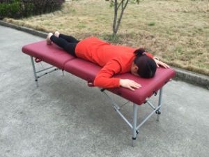 Light Weight Aluminium Massage Table Alu-010 pictures & photos
