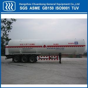 Horizontal Chemical Liquid LNG Tanker Semi Trailer pictures & photos