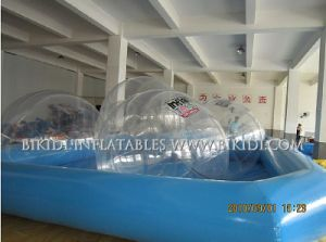 Customized Different Colors Cheap Inflatable Water Walking Rolling Ball Used for Sale pictures & photos