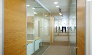 Prefabricated Interior Partition Walls, Soundproof Office Partition