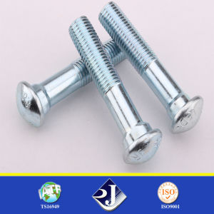 Onlie Selling Round Head Oval Neck Rail Bolt / Track Bolt pictures & photos