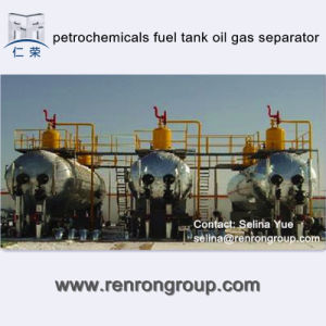 Petrochemicals Fuel Tank Oil Gas Separator S-06