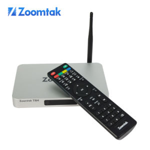 Zoomtak Latest T8h Quad Core Set Top Box Android TV Stick pictures & photos