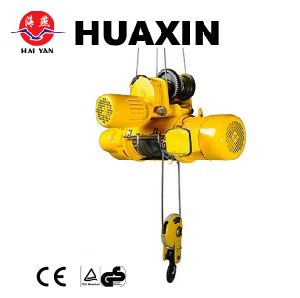 China Factory Supply 1ton 6 Metres Wire Rope Electric Hoist