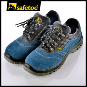 Hot Selling Breathable Suede Leather Safety Shoes L-7268