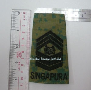 Military Embroidery Rank Emblem/Badge on Shoulder pictures & photos