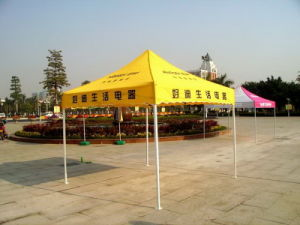 3m*3m Steel Folding Gazebo Tent for Exhibition or Promotion 2016 pictures & photos