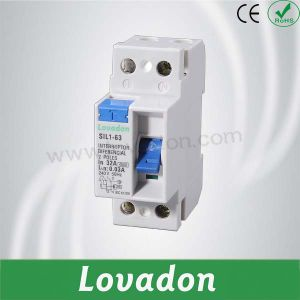RCCB Good Quality Sil1 Series 2p Residual Current Circuit Breaker pictures & photos