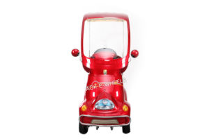 500W Reliable Four Wheels Electric Disabled Scooter with Rain Cover (ES-029A) pictures & photos