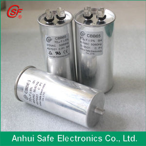 High Quality Metalized Film Air Conditioner Run Capacitor Oval Cbb65 pictures & photos