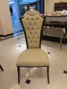 New Euro Classical Restaurant Furniture Set / Ding Room Table / Chair (GN-HFD-01) pictures & photos