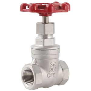 Stainless Steel Investment Casting Screwed Valves pictures & photos