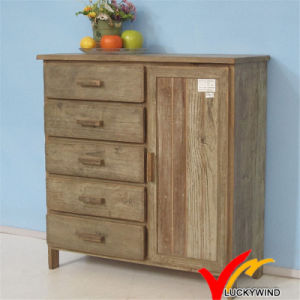 Natural Wood Color Cabinet with Vintage Taste for Home Decoration pictures & photos