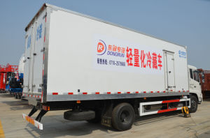 Refrigerated Van Cold Chain Truck Cargo Box