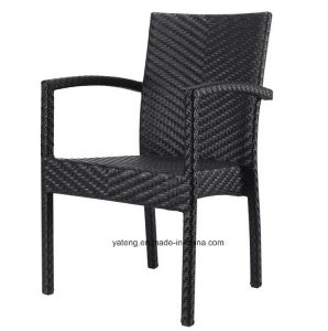 Outdoor Aluminum Furniture Stackable Chair Using for Restaurant Set Square Table (YT182) pictures & photos