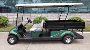 Cargo Box, 2 Seater Electric Golf Cart