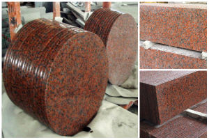 G562 Maple Leaf Red Granite Slab For Coffee Table