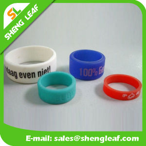 Promotional Items Silicone Rubber Finger Ring (SLF-SR028)