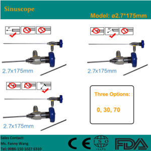2015 Promotion! ! Sinuscope 2.7*175mm Storz Compatible-Fanny pictures & photos