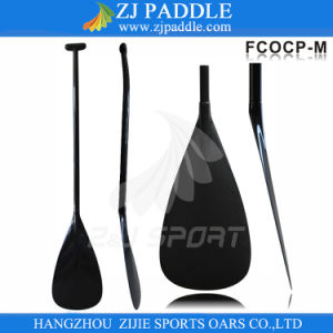 Oval Bent Shaft Carbon Outrigger Canoe Paddles