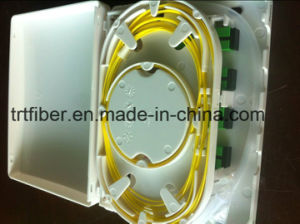 ABS Housing 4 Port Fiber Optic Distribution Box pictures & photos