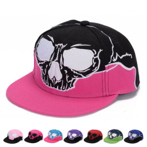 96af00e9f Skull Embroidered Fashion Promotional Cotton Sports Trukfit Trucker Caps  (YKY3362)