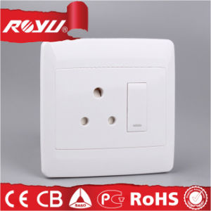 6*6 Size 16A Switched Socket for South Africa Market pictures & photos
