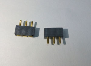 3.0mm Pitch Pogo Pin Connector, 3p, H=5.2mm L=7.8mm pictures & photos