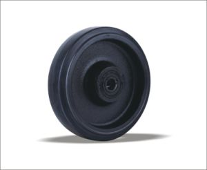 Rubber Wheels With Cast Iron Centre pictures & photos