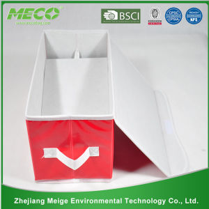 Custom Multipurpose PP Non Woven Clothing Fabric Foldable Storage Box (MECO410) pictures & photos