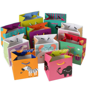 Mini Printing Cardboard Paper Promotional Gift Bags with Handle / Cardboard Paper Carrier Bags pictures & photos
