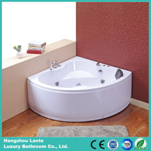 Hot Acrylic One Person Corner Bathtub with Massage (TLP-636 pneumatic control) pictures & photos