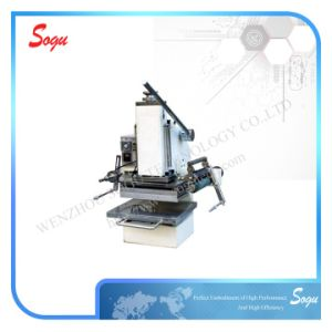 Xt0038 Table Leather Paper Heat Stamping Machine pictures & photos
