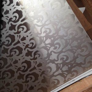 Wholesale Color Mirror Etched Decorative Stainless Steel Sheet Plate Metal pictures & photos