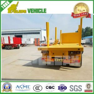 Tri-Axle Flatbed Drawbar Full Trailer