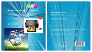 A4 * 10 Sheets Canvas-Photo Paper pictures & photos
