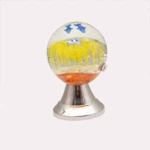 China N Crystal Gl Decorative Globe Sphere With Led Lights Home Decoration