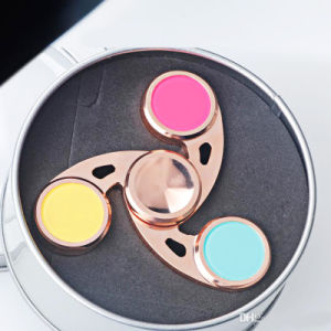 Metal Copper Cyclone Hurricane Whirlwind EDC Gyro Spinner Fidgets Hand Spinner for Autism Long Rotation Anti Stress