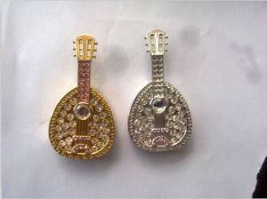 Musical Instrument USB Flash Drives Metal Jewelry USB Drives pictures & photos
