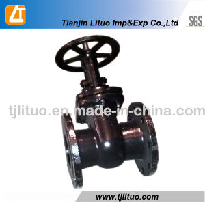 GOST Standard Gate Valve Pn16 pictures & photos