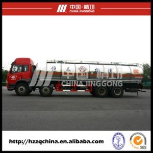 Brand New Faw Plastic Tank Truck for Chemical Liquid Property Delivery (HZZ5311GHY)