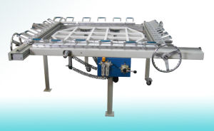 Mechanical Screen Printing Stretcher, Silk Screen Mesh Stretching Machine pictures & photos