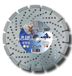 Diamond Disc Cut Reinforced Concrete Dia. 230mm