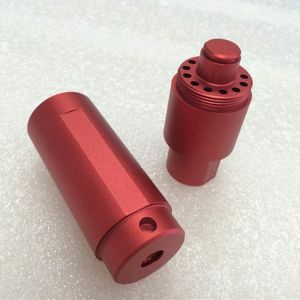 China Supplier Customized Aluminum Red Anodied CNC Machining Parts